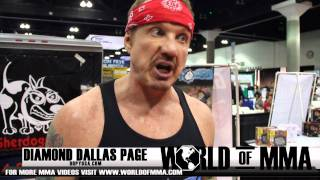 Diamond Dallas Page Introduces DDP Yoga, It Aint Your Mama