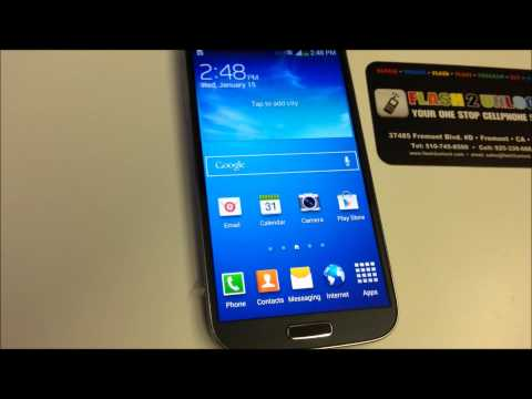 Samsung Galaxy S4 Sprint flashed to Pageplus ( VERIZON NETWORK ) $55 A MONTH
