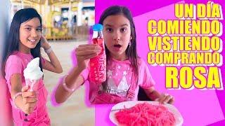 Un Día COMIENDO ROSA, VISITIENDO y COMPRANDO | TV Ana Emilia