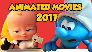 Best Upcoming 2017 Animated Movie Trailers Compilation
