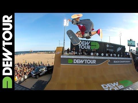 Sandro Dias' First Run from Skate Vert Final, 2014 Dew Tour Beach Championships