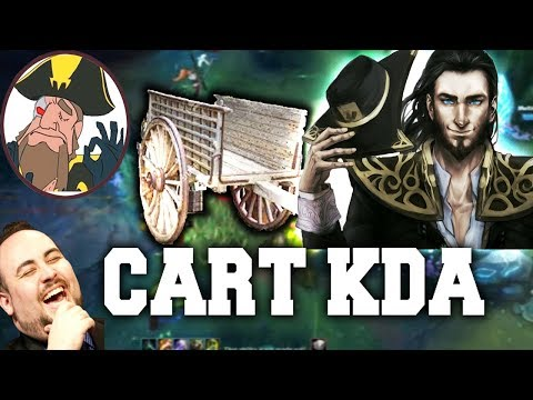 Tobias Fate - CABBAGE CART KDA LUL, TF THE PLAYMAKER! | League of Legends