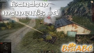 World of Tanks - Random moments #4 - Моменты и супер рикошет - СУ-14-2, M41, Е 100, T-54 обл.