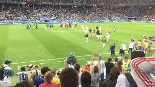 Los hinchas argentinos cargan contra Sampaoli tras la derrota Argentina 0 - 3 Croacia