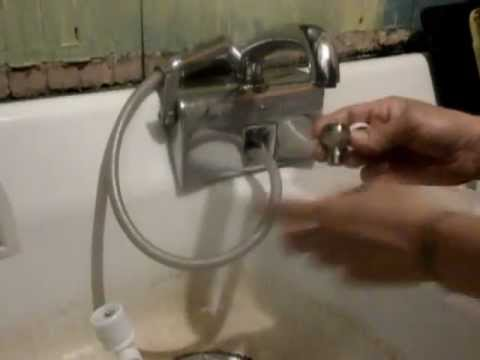 Countertop Dishwasher Hook Up : DANBY Portable Dishwasher DDW1899WP quick how to attach to faucet