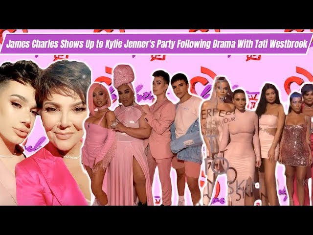 After UNFOLLOWING James Charles Gets Invited To Kylie's Skin launch Party+ is Kylie Copying Rihanna