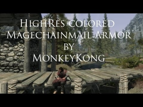Another Skyrim Mod Review - Magechainmail Armor by MonkeyKong
