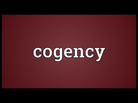 Header of cogency