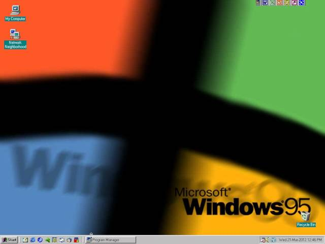 Retro: Hidden Windows 3.1 Stuff In Windows 95