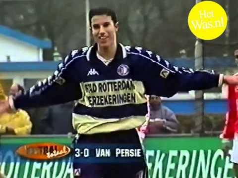 Het Was- Robin van Persie big talent of 17 years old, playing for Feyenoord Rotterdam (1)