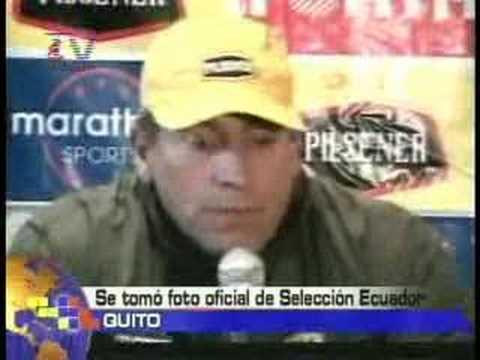 Foto oficial de la Selección de Ecuador