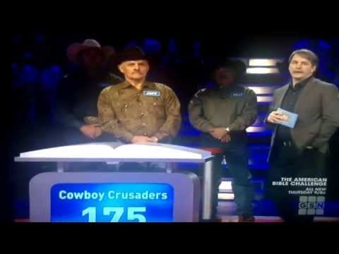 The cowboys haft to goo! On the American bible challenge on gsn!!