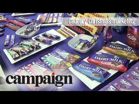 Cadbury Christmas marketing