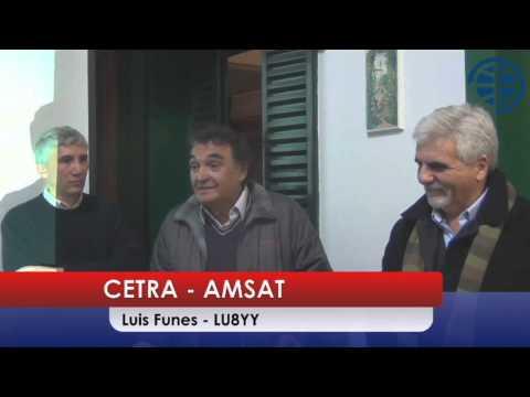 AMSAT Argentina / CETRA  - Un dia Espacial en el Radio Club Argentino