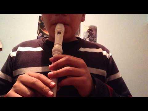 Como tocar tapion en flauta dulce