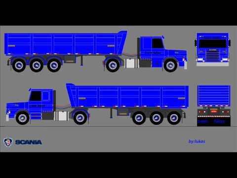Desenhos de caminhões.... TOP