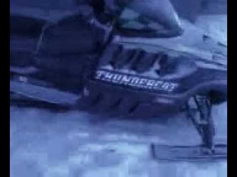 Thundercat 1000  Speed on 2000 Arctic Cat Thundercat 1000 Stock Exhaust Sound At An Idle