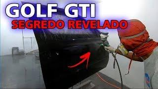NOSSO GOLF GTI - O SEGREDO DA PINTURA MAIS INCRÍVEL DO MUNDO !