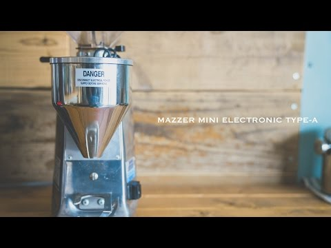 コーヒーグラインダー「MAZZER MINI 」の紹介と掃除の仕方 ☆ How to clean Mazzer Mini coffee grinder