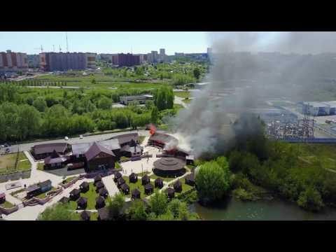 пожар Золотой берег 27 мая Кемерово