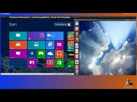 Linux Ubuntu 12.10 im Vergleich zu Windows 8