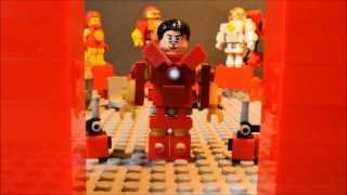 Brickfilm Shorts- Another Iron Man suit up