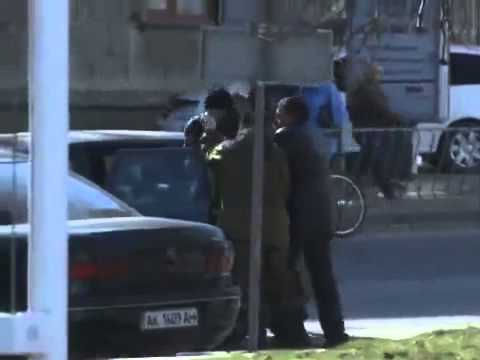 Videos of Crimean Tatar Reshat Ametov kidnapping, ho was found dead on March 15, 2014 Crimean crisis