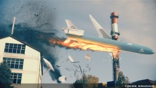 Plane crash project + vfx breakdown