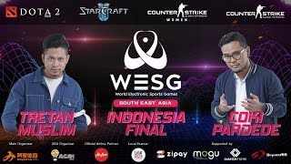 [WESG 2019] CS:GO BOOM Esports vs Big Time Regal Gaming |  INDONESIA FINALS