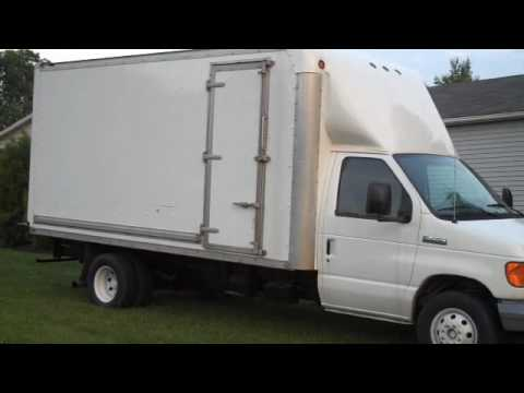 2006 Ford E 450 15ft High Cube Van With Power Stroke