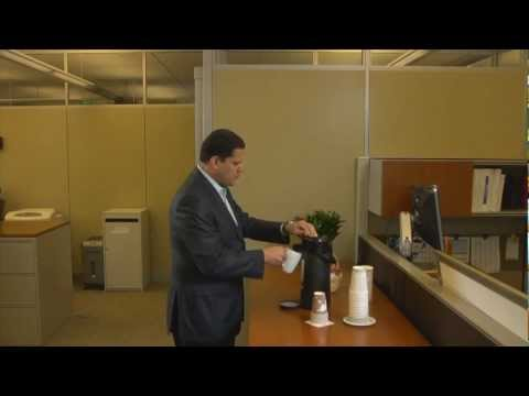 No one gets Reggie Fils-Aime's coffee! (HD)