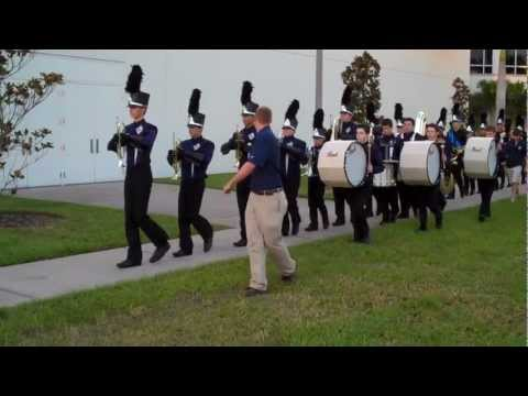 Calvary Christian High School Warrior Marching Band - 9 28 2012