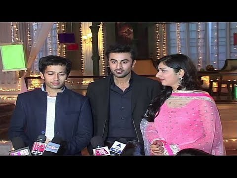 Watch Ranbir Kapoor On The Sets Of 'Pyar Ka Dard Hai Meetha Meetha Pyara Pyara'