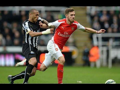 Aaron Ramsey vs Newcastle [21/3/15]