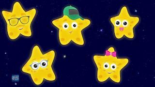 Star Finger Family | Twinkle Twinkle Little Star | Nursery Rhymes Songs For Kids | Baby Rhyme
