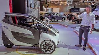 VMS 2018 - Khám phá xe điện 3 bánh Toyota iRoad - Phù hợp đô thị hiện đại