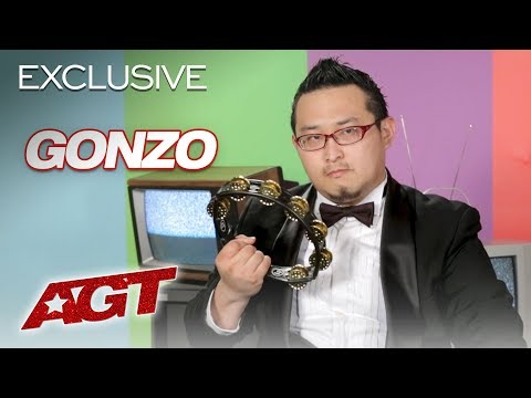 Gonzo Is A Man Of Few Words But Many Talents! - America's Got Talent 2019