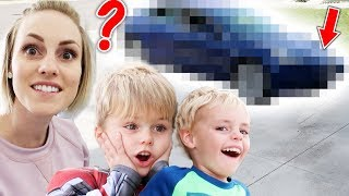 Another NEW CAR?! Surprised The Kids! | Ellie And Jared