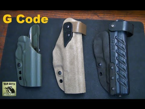G code holster coupon
