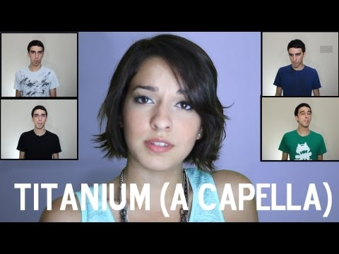 David Guetta Ft Sia - Titanium (a Capella Cover Ft Astrid) video