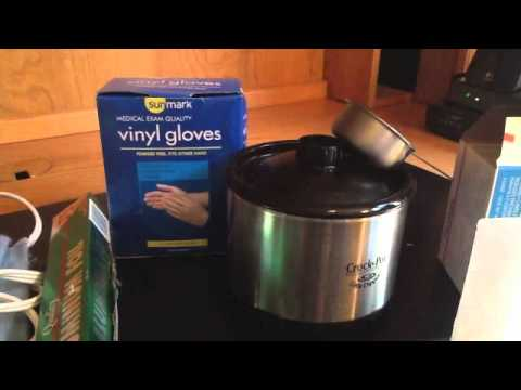DIY Paraffin Treatment Hands and Feet