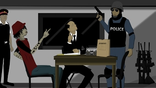 Alkaline Questioned By Police About Murder. [Jamaican Cartoon]