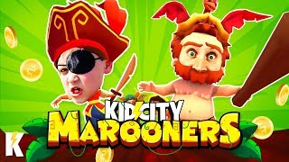 Marooners Party Games! (GANG BEASTS with Coins!) KIDCITY GAMING