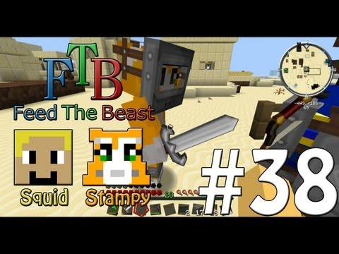 Feed The Beast #38 - Special Training!! - W/Stampylongnose