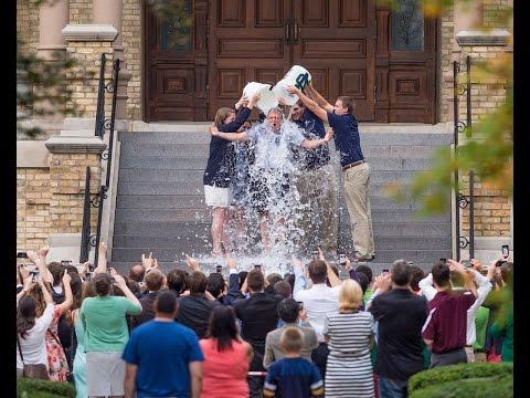 Notre Dame Ice Bucket Challenge