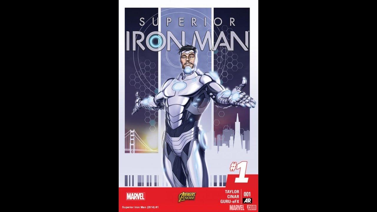 Superior Iron Man 1 Comic