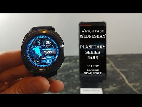 Watch Face Wednesday : Planetary Review Gear S3 Gear Sport Gear S2
