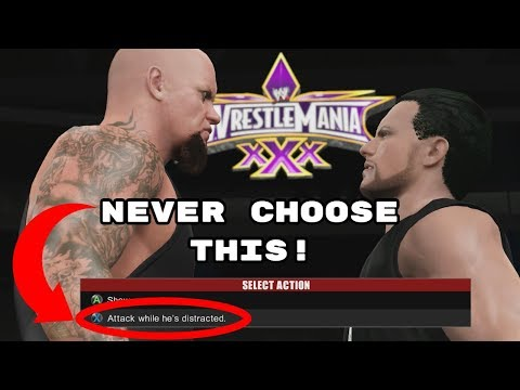 6 Choices You Should Never Pick In WWE Games