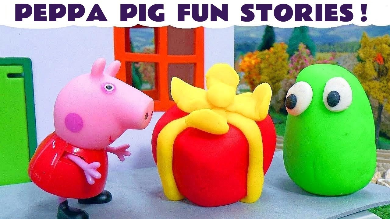 Плей До + Свинка Пеппа Play Doh + Peppa Pig - YouTube