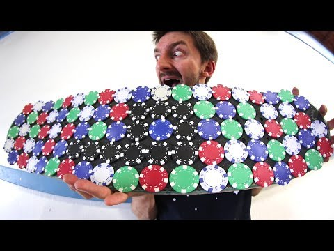 THE POKER CHIP SKATEBOARD | YOU MAKE IT WE SKATE IT EP 143